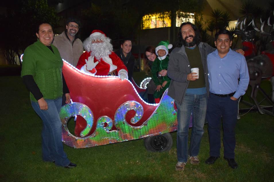 Llegó la Navidad al Campus Tijuana