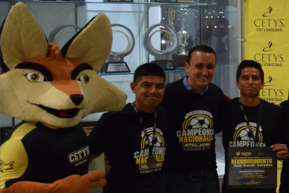 Viví una gran etapa como estudiante y entrenador de CETYS: Guillermo Lucero
