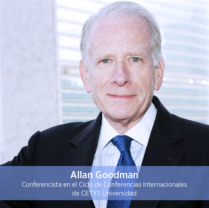 ¿Conoces al Dr. Allan E. Goodman?