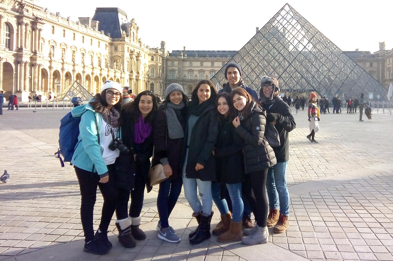 Viajan a Francia para practicar segundo idioma