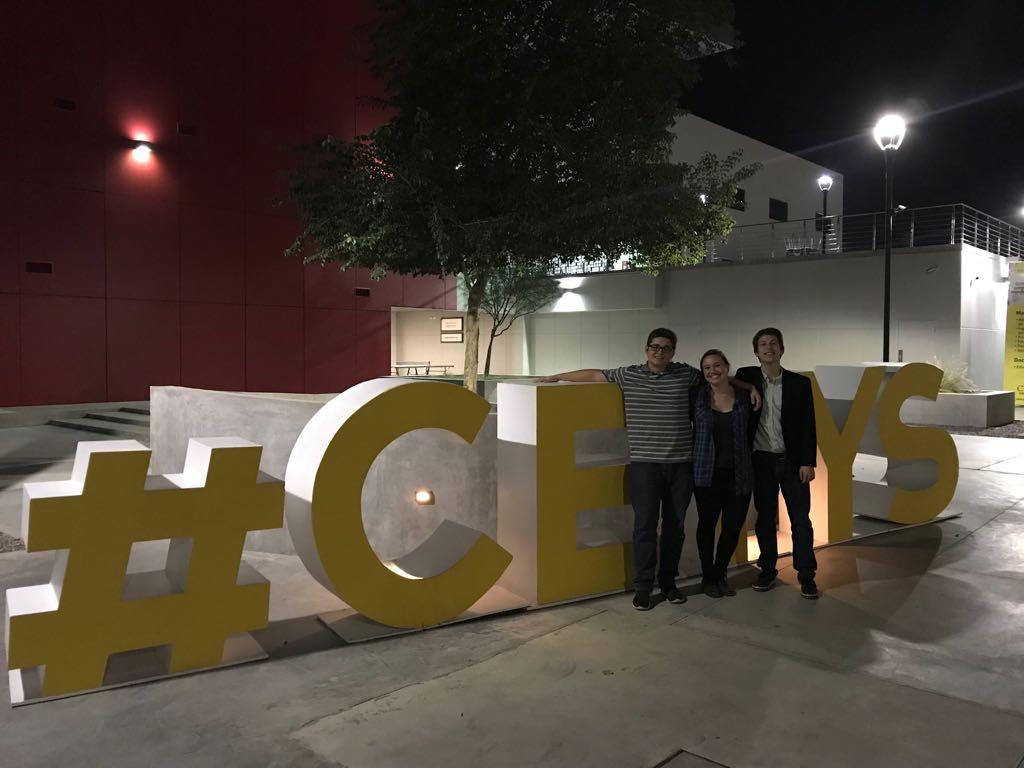 Francisco, Michelle y Jason Estudiantes de MIT