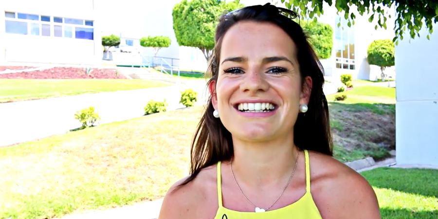 Ella es Andrea Pichler, estudiante internacional, ¡conócela!