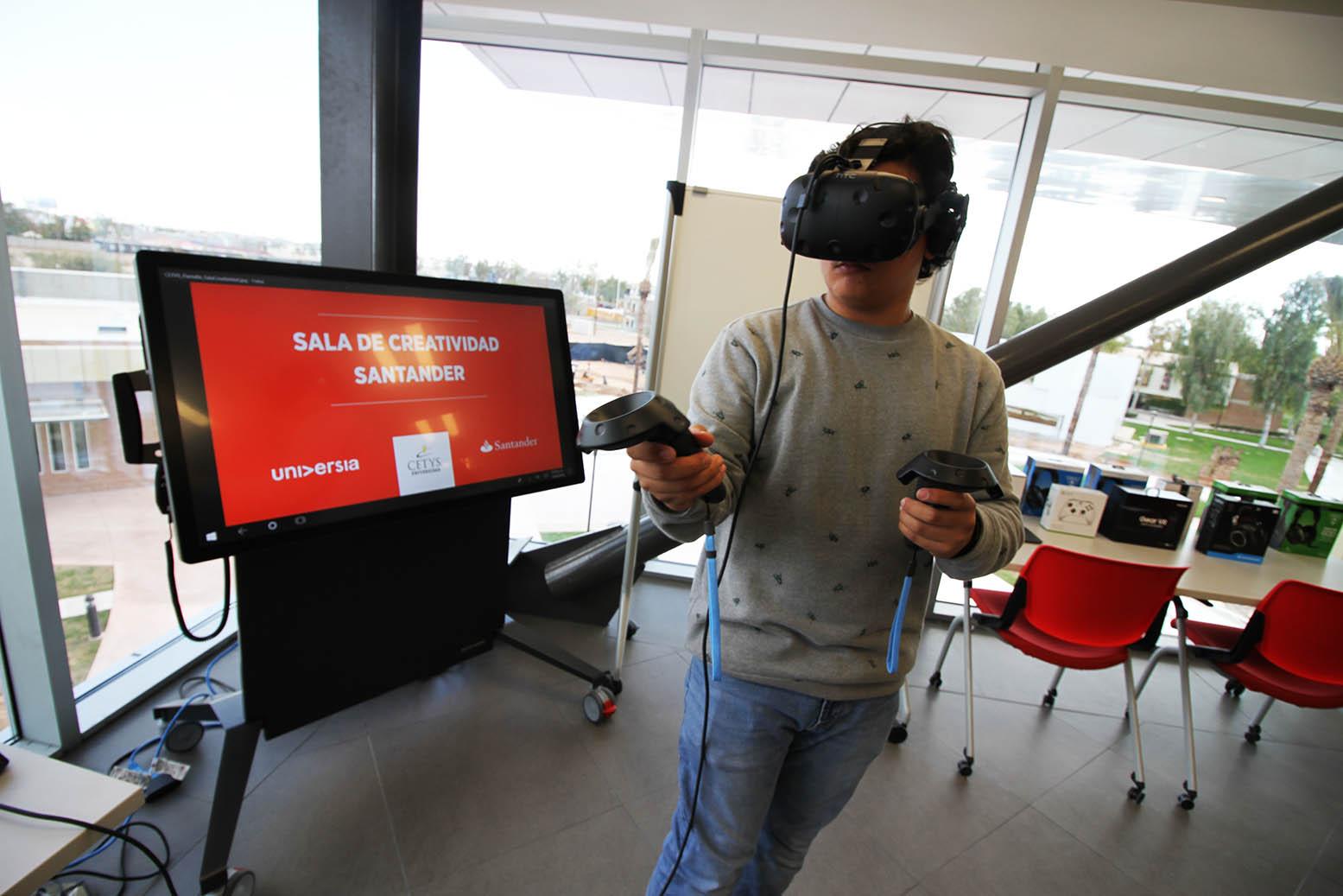 Sala de Creatividad e Innovación Santander-Universia