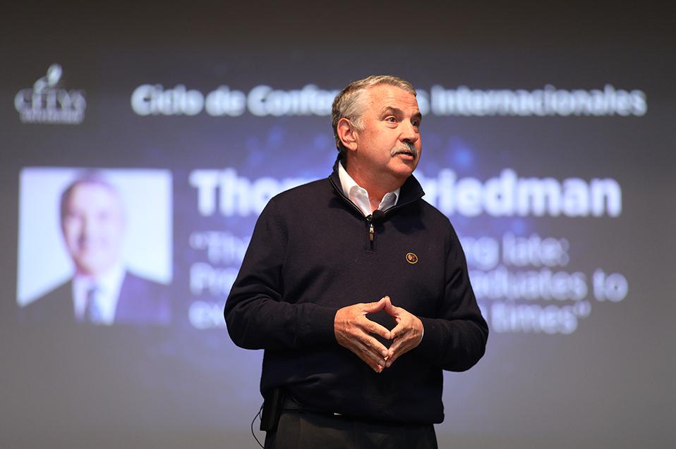 Thomas Friedman y la importancia de adaptarse al cambio