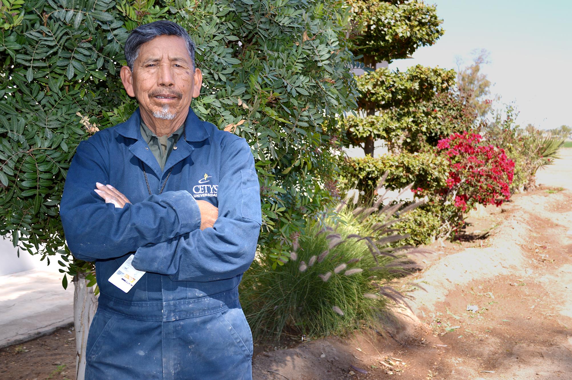 Sembró árboles y cosechó amistades; Don Marcelino