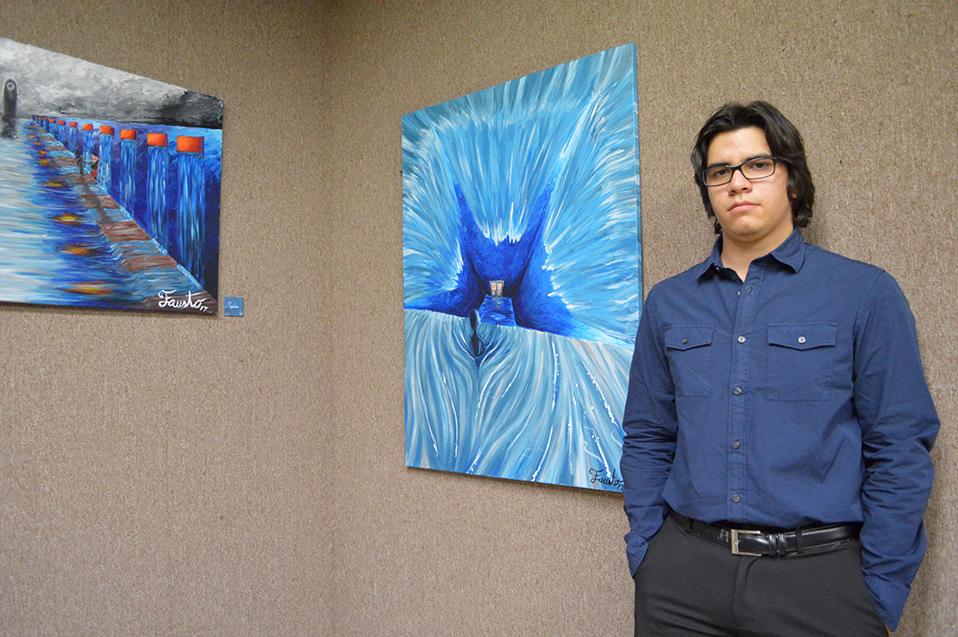De la Ingeniería al arte de la Pintura; Fausto Reyes