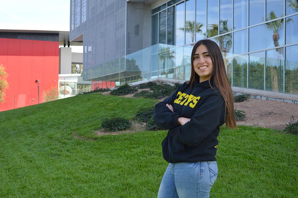 Marian Meza alumna del IB con gusto por la robótica