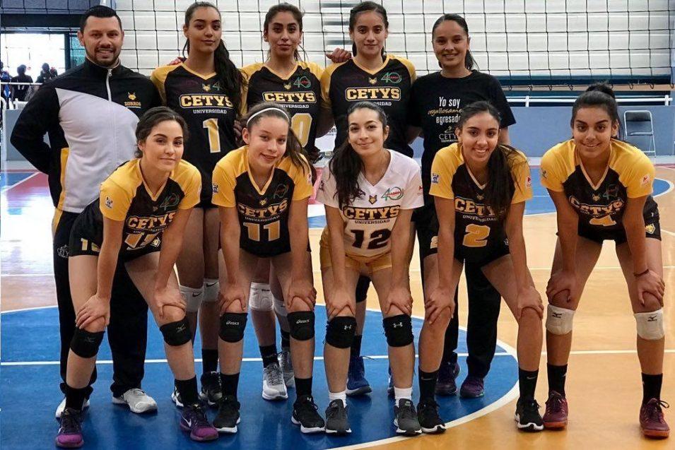 Zorros Femenil ascienden a la Conferencia Nacional de Voleibol CONADEIP