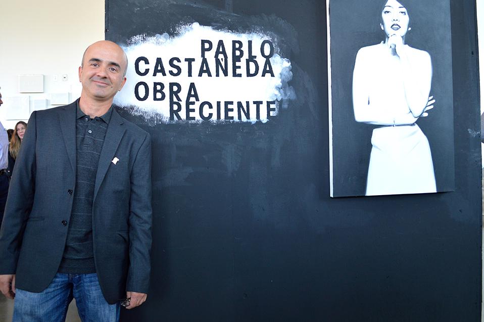 Muestra Pablo Castañeda obra de arte intenso
