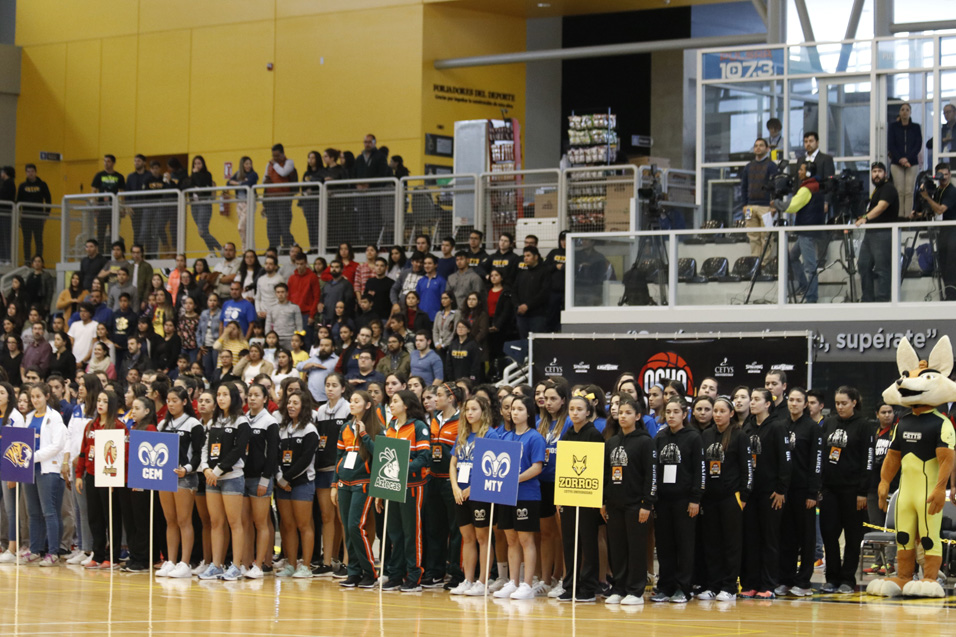 """Arranca Campeonato Nacional """"Ocho Grandes"""" de básquetbol en CETYS Universidad"""