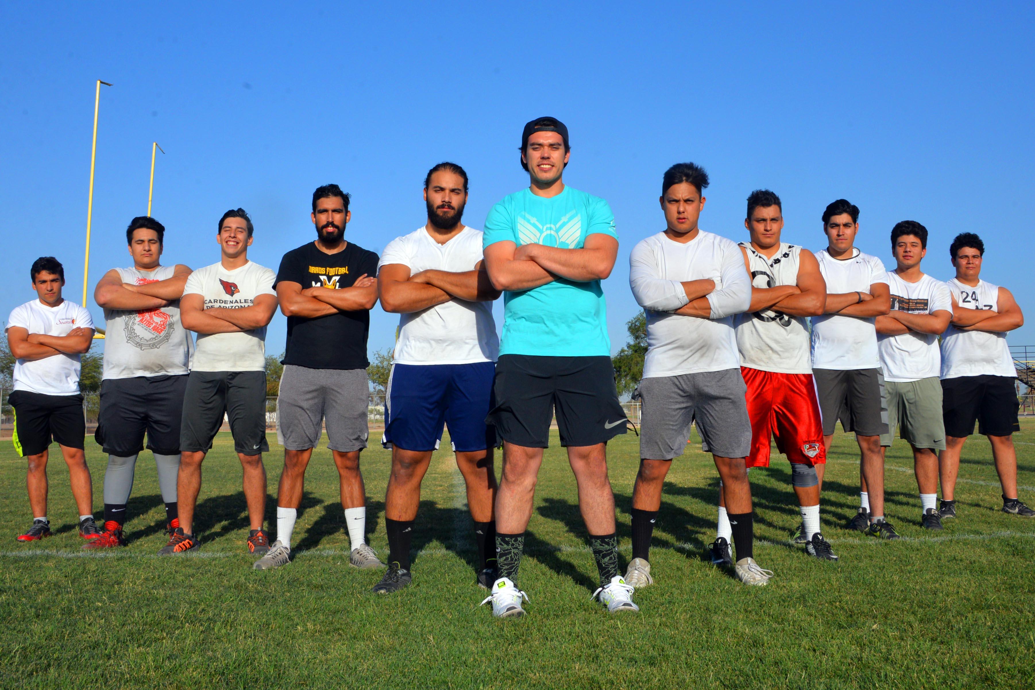 Zorros MXL, listos para defender el título en Futbol Americano