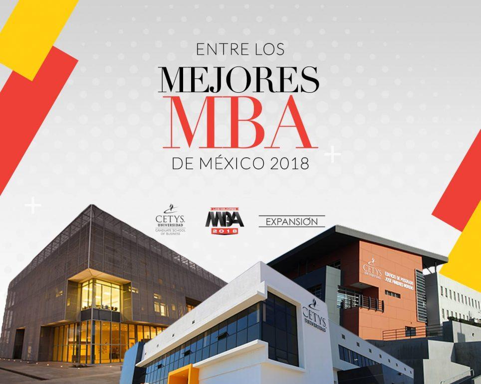 MBA de CETYS; doce años siendo uno de los mejores programas en MX