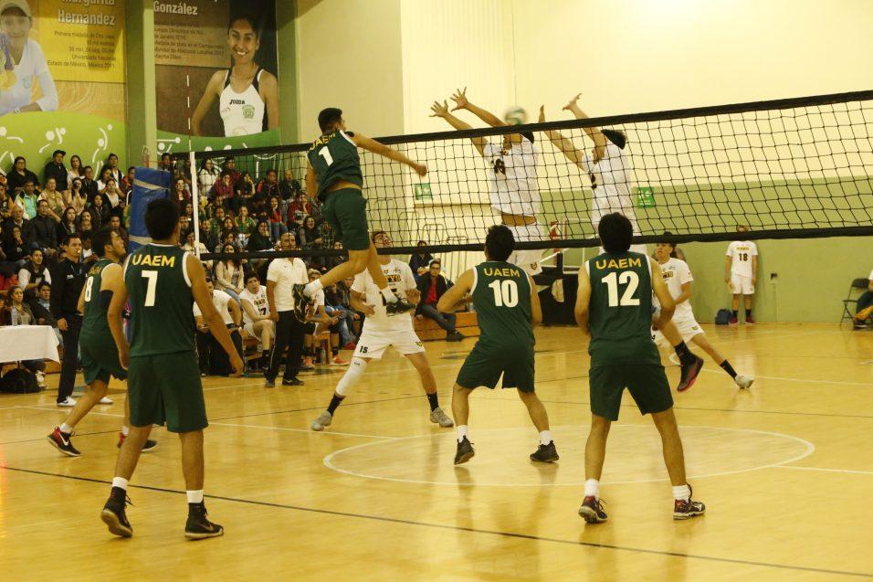 """Despiertan los Zorros y vencen a Potros en voleibol de """"Universiada Nacional"""""""