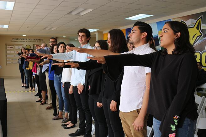 Toman protesta Sociedad de alumnos y Consejo estudiantil
