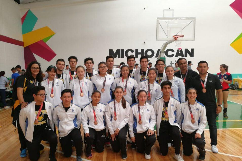 Tres medallas de bronce para el deporte de CETYS Preparatoria