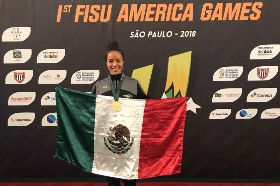 Lilián Borja y CETYS hacen historia en los primeros Juegos FISU América