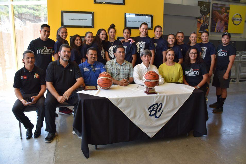 Selección Nacional Universitaria se despide de CETYS y de Baja California