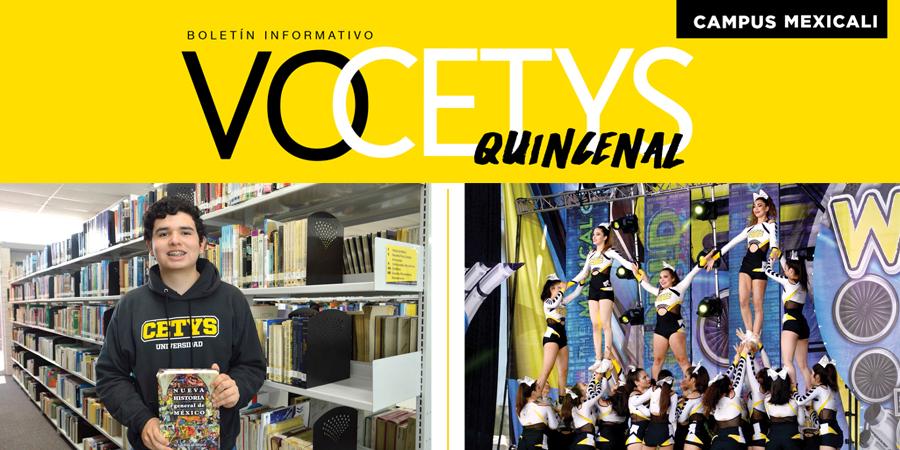 VoCETYS Quincenal – Campus Mexicali | 18-Junio-2018