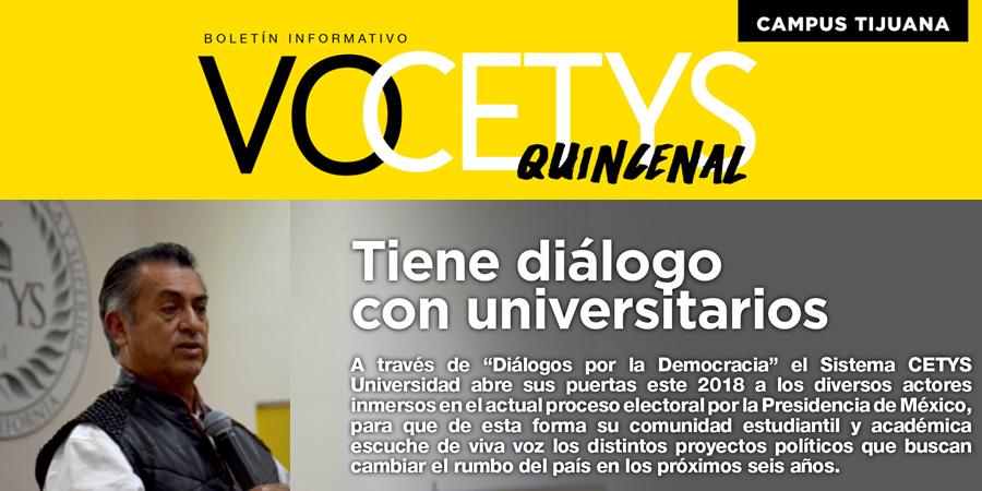 VoCETYS Quincenal – Campus Tijuana | 1-Junio-2018