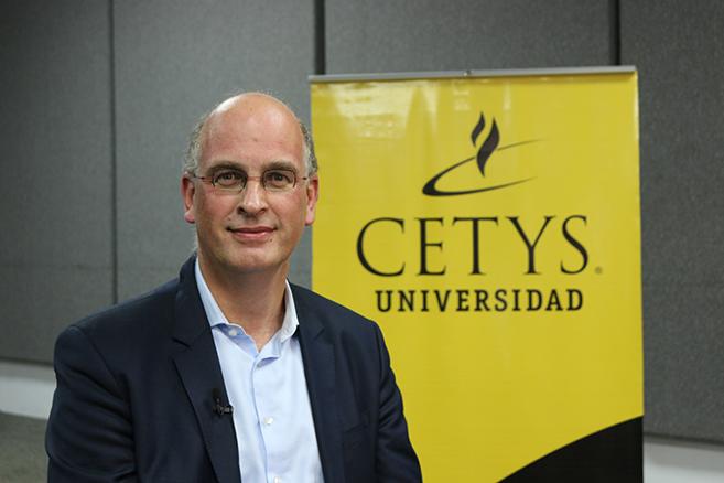 """CETYS forma personas capaces de competir a escala global"", Dr. Fred Van Eenennaam"
