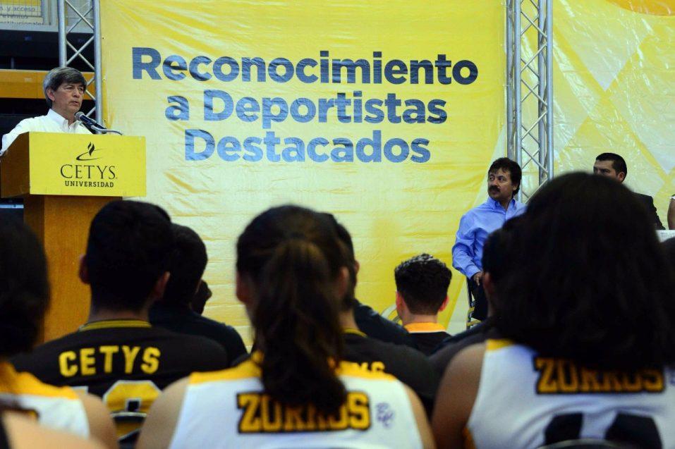Reconocimiento a Zorros en un año histórico para CETYS Universidad