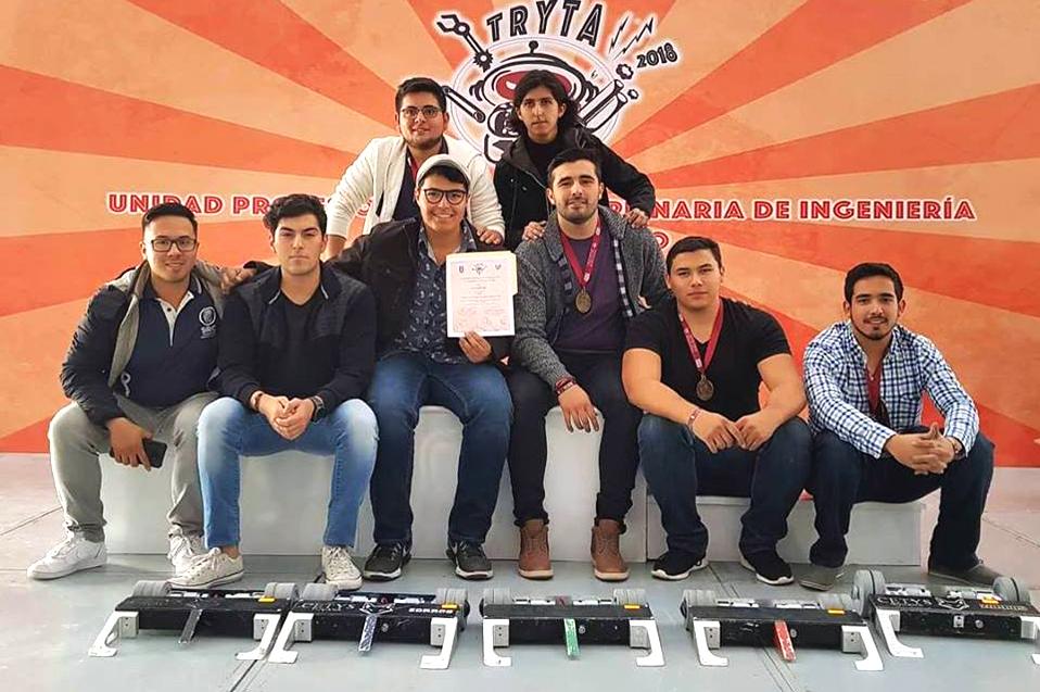 Ganan oro en Torneo de Robóticas y Tecnologías Avanzadas del IPN
