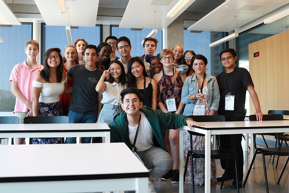 Son ciudadanos del mundo: Jóvenes del IB