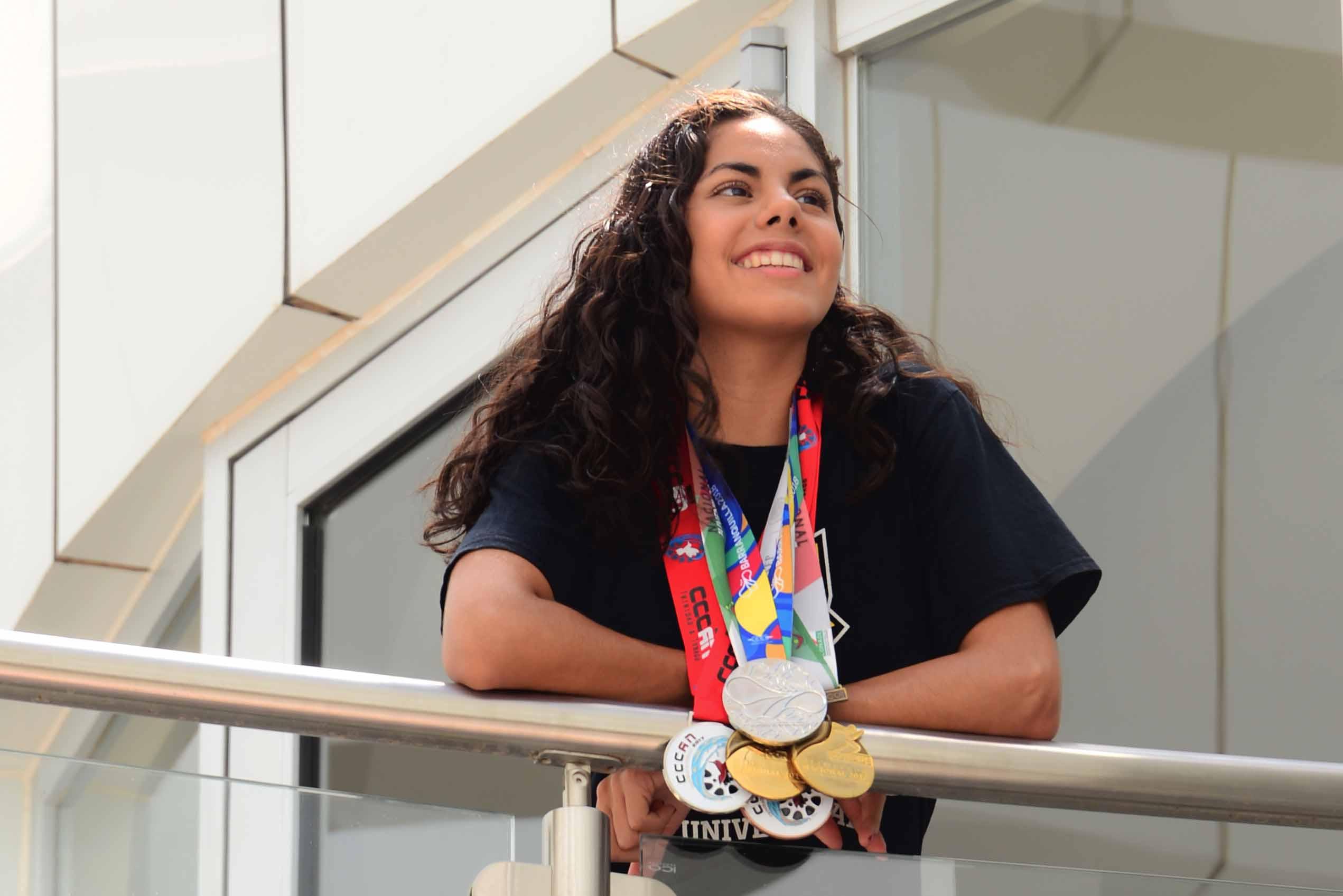 Juegos Olímpicos, la meta de Martha