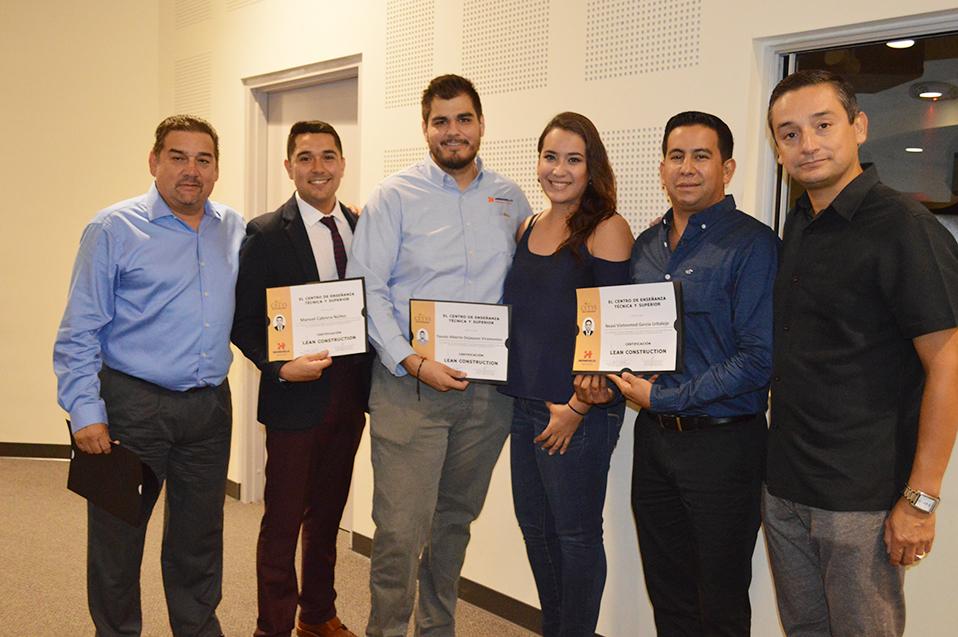 Certifican en LEAN Construction a la empresa Hermosillo