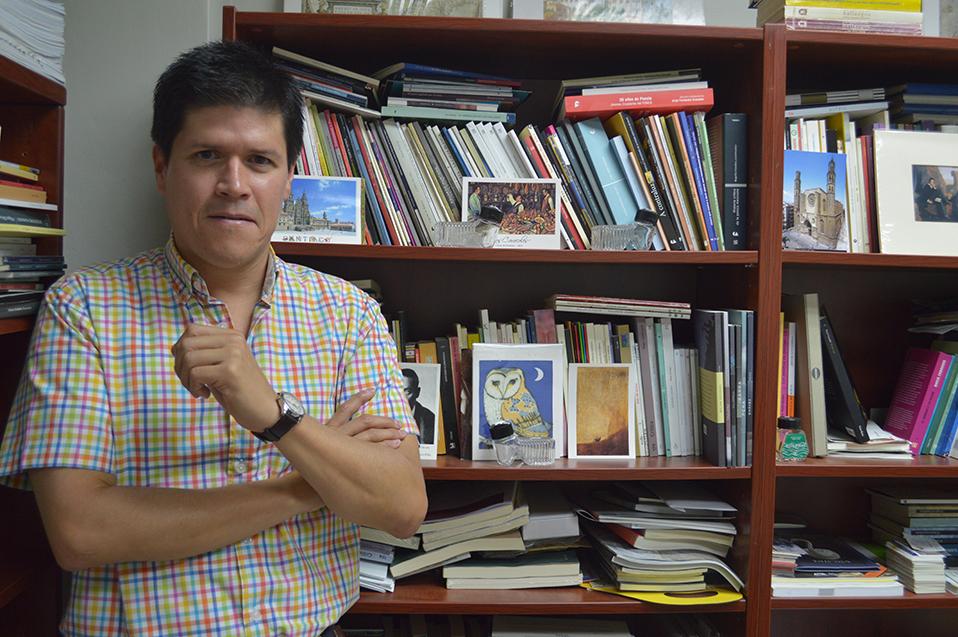 Es Jorge Ortega tutor del Fondo Nacional para la Cultura y las Artes