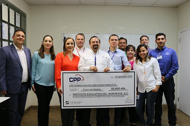 Empresa CPP reafirma compromiso con la educación CETYS