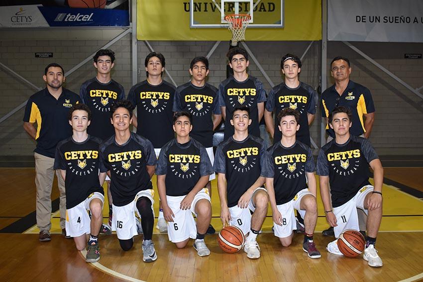 CETYS Mexicali clasifica a Nacional Juvenil B de basquetbol