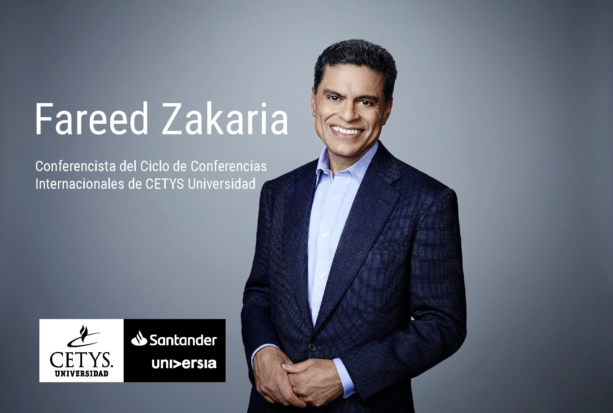 Conoce al Dr. Fareed Zakaria