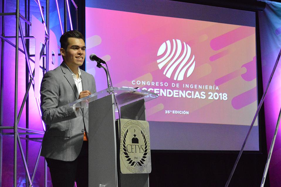 De estudiantes para estudiantes: Congreso de Ingeniería Trascendencias 2018