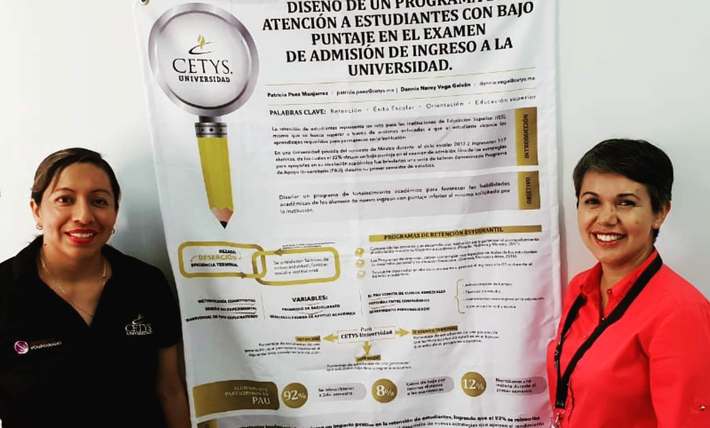 Presentan ponencia en España sobre éxito académico