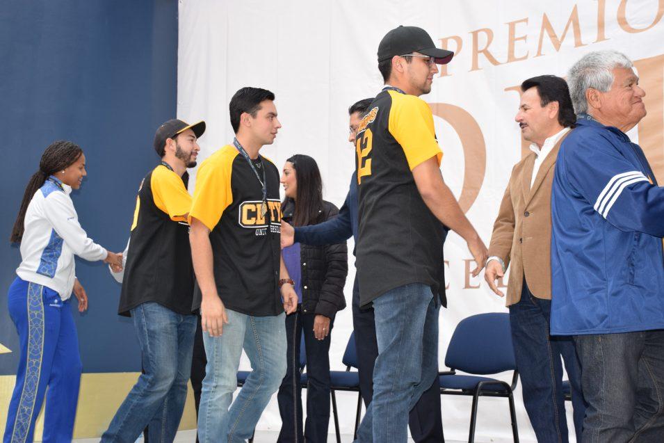 """Campus Tijuana se hizo presente en el """"Premio Municipal del Deporte"""""""
