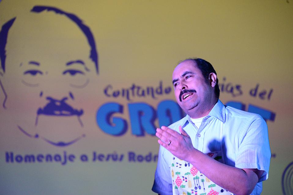 """Contando historias del GRACET: Homenaje a Jesús Rodríguez """"Don Chuy"""""""