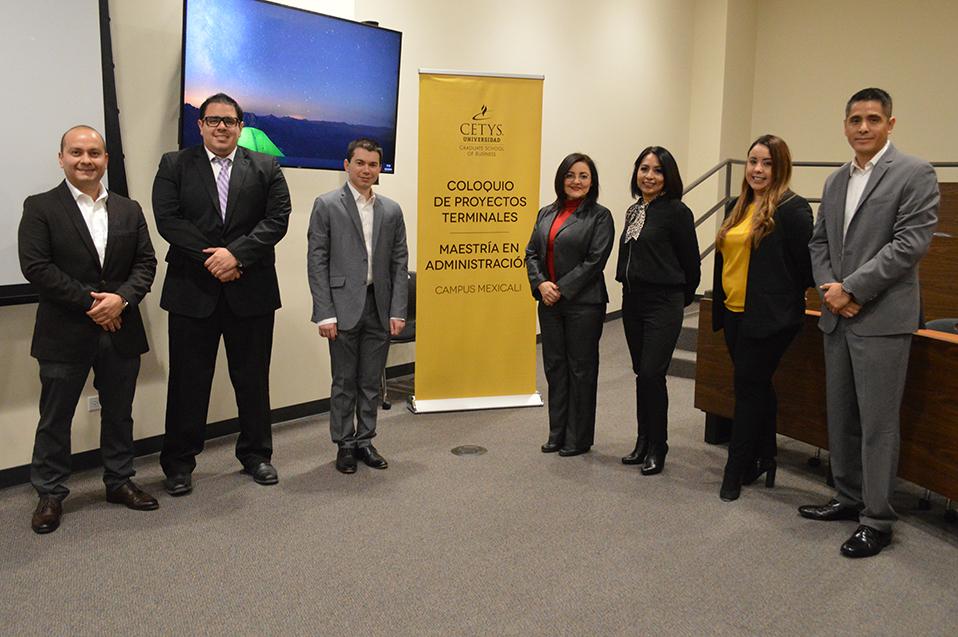 Muestran proyectos integradores alumnos del MBA