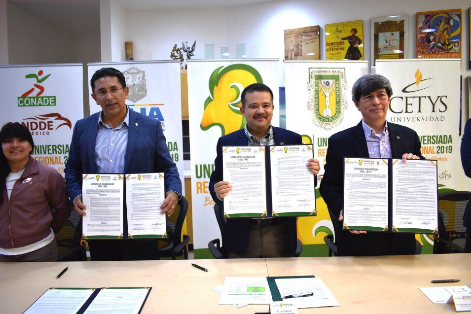 """""""Universiada Regional 2019"""" será resultado de importante alianza deportiva"""