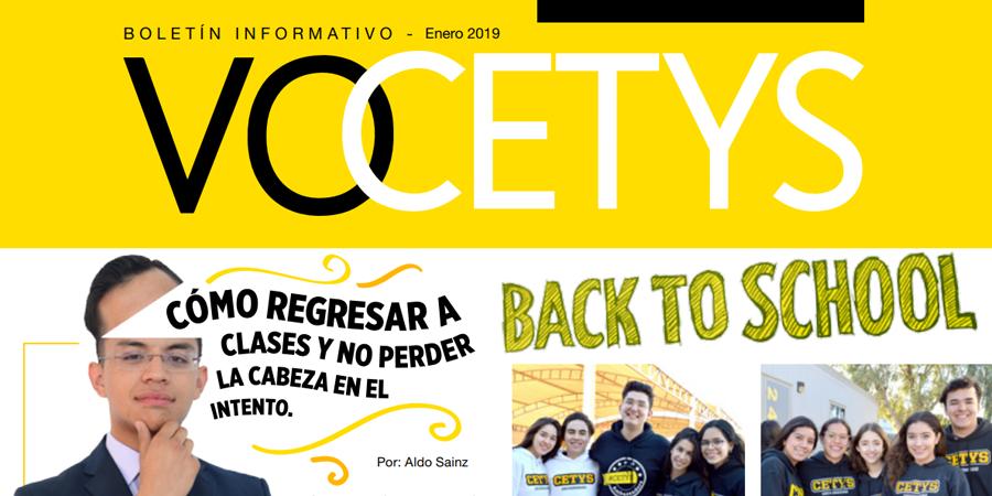 VoCETYS Quincenal – Campus Mexicali | Enero-2019