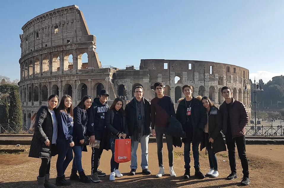 Roma, un momento histórico: viaje cultural de la Prepa CETYS