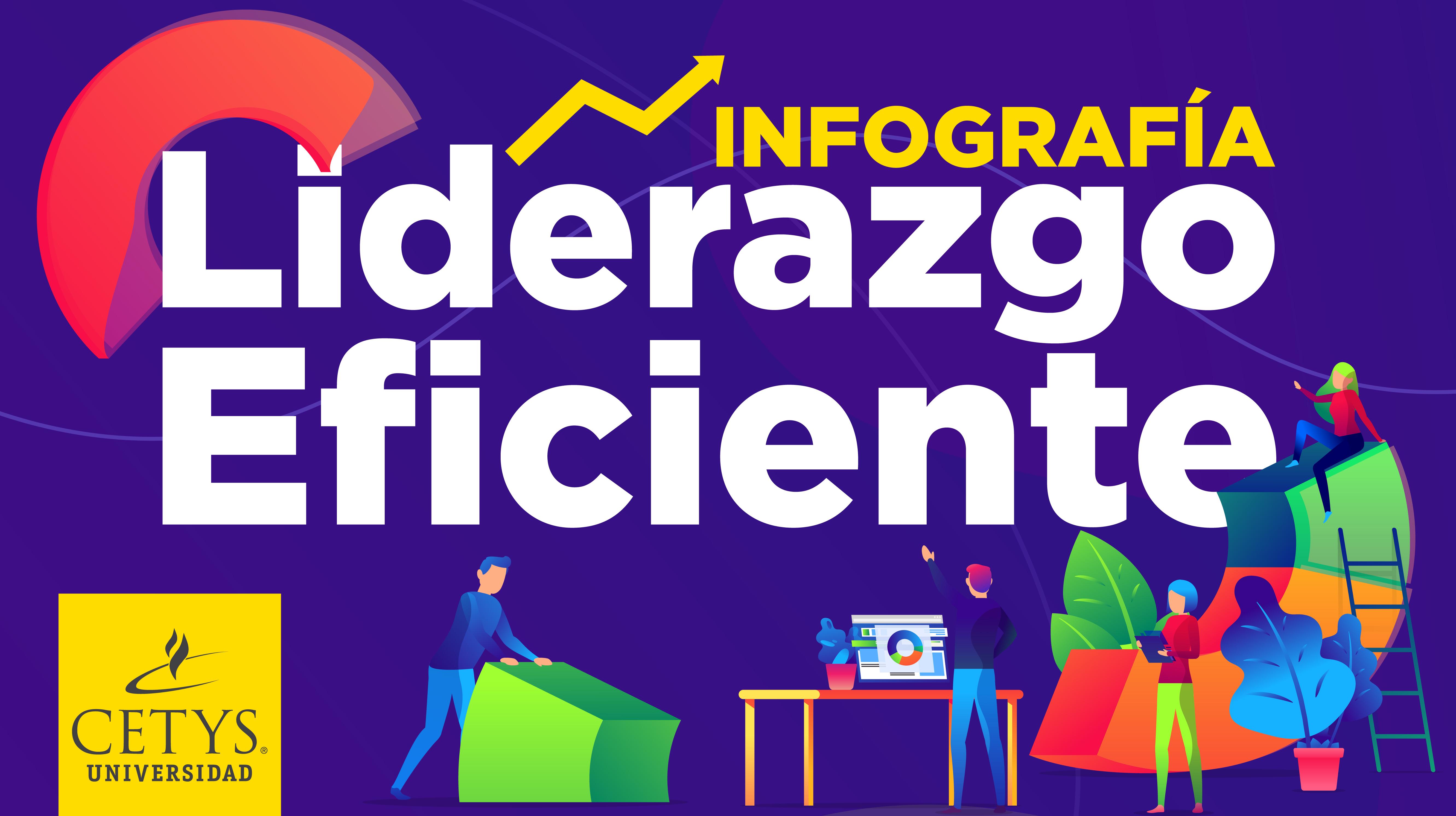 Infografía: Liderazgo eficiente