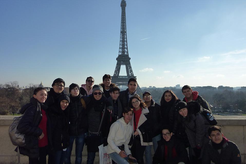 De México a Francia: Experiencia internacional de la Prepa CETYS