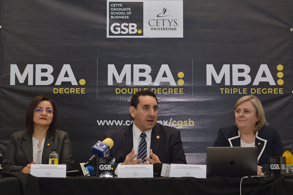 Forma CETYS Graduate School of Business competencias empresariales internacionales