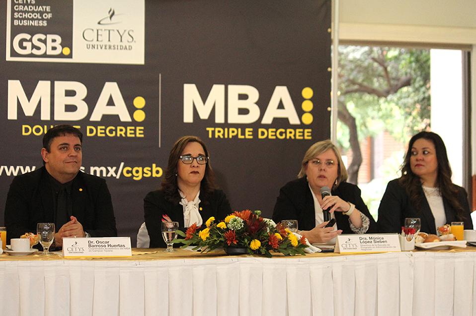 """Con el """"CETYS Graduate School of Business"""" buscan formar profesionales altamente capacitados"""