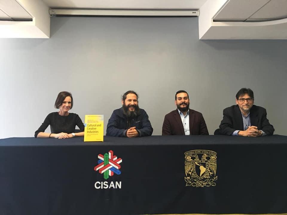 Presentan libro sobre las Industrias Culturales y Creativas en la UNAM
