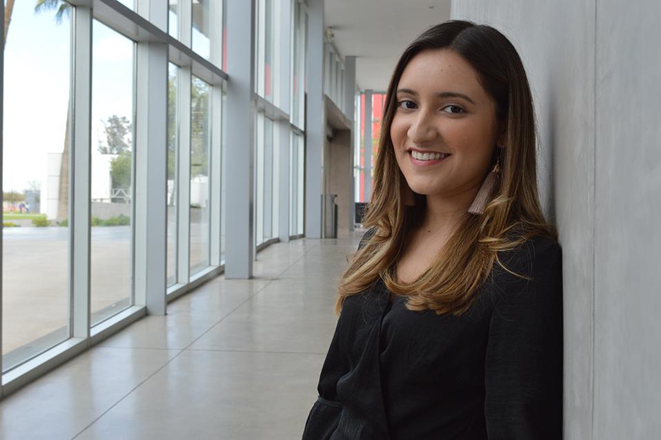 Izareth Mendieta una Alumni con educación internacional