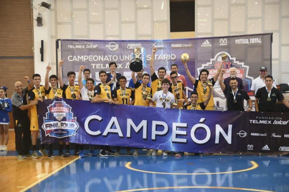 CETYS tiene equipo bicampeón de voleibol masculino