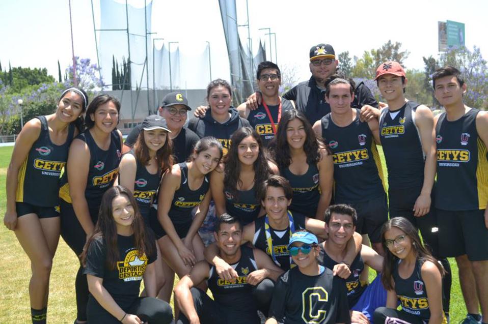 CETYS Mexicali destaca en Nacional de Atletismo de la CONADEIP