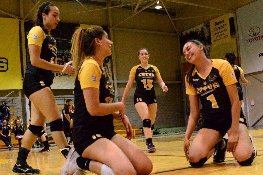 Zorros y Águilas dominaron voleibol de Universiada Regional CETYS